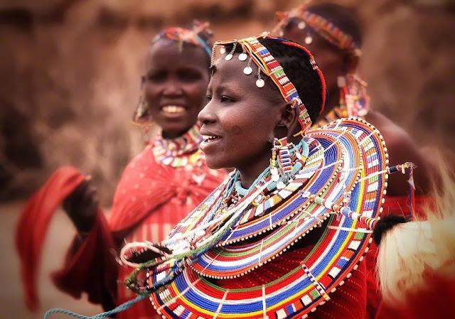 Những phong tục lạ kỳ trong ngày cưới của người Maasai ở Kenya