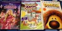Disney movie dvd haul Sharpay Pound Puppies Doogal Dollar Tree