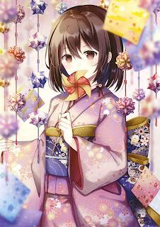 Anime Girl Short Hair Wallpaper