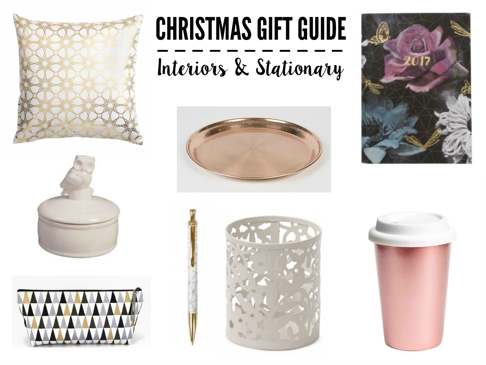 Christmas Gift Guide | Interiors & Stationery