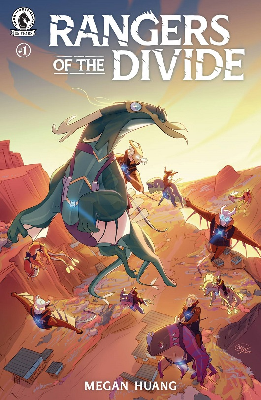 Cover of Rangers of the Divide #1