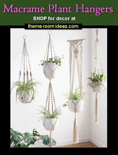 Macrame Plant Hangers boho bedroom decor boho bedrooms