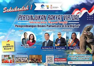 Kementrian Komunikasi dan Informatika RI Bekerjasama Dengan Komite Penanganan Covid -19 Dan Pemulihan Ekonomi Nasional Gelar Pertunjukan Rakyat Virtual Di Labuan Bajo