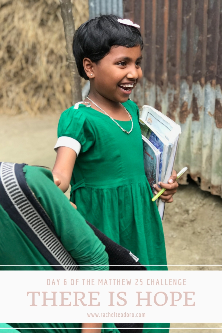 there is hope child in bangladesh smiling