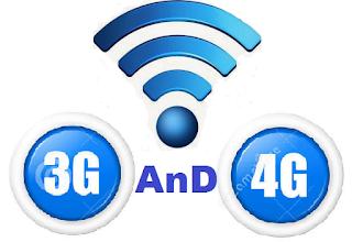 Perbedaan jaringan internet 3G dan 4G