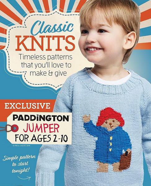 Vikki Bird Designs New Designs Paddington Bear Jumper And