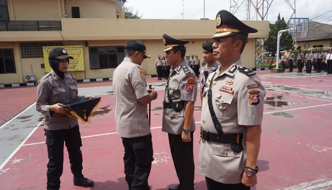 Kompol Kamarul Wahyudi Resmi Jabat Kabagops Polres Cilegon