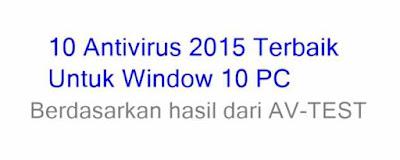 Antivirus Terbaik 2015