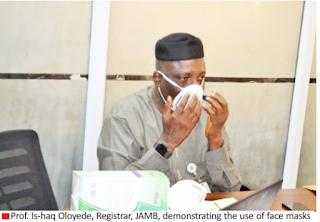 JAMB Takes Precautionary Measures Over Coronavirus (COVID-19)