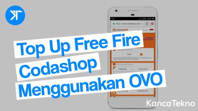 Cara Top Up Diamond Free Fire di Codashop Menggunakan OVO