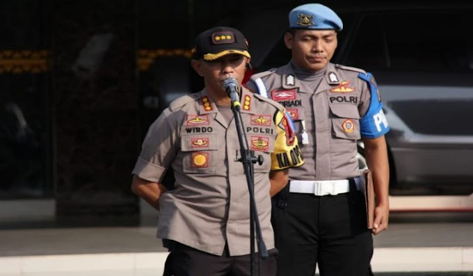 Layani Masyarakat, Polresta Bandar Lampung Siagakan Personel di Perayaan Isa Al-Masih