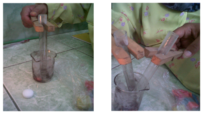 Laporan Praktikum Perubahan Wujud Cair Menjadi Gas (Praktikum IPA di SD)