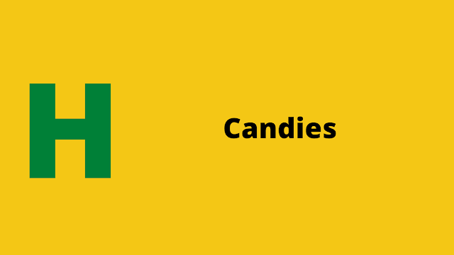HackerRank Candies interview preparation kit solution