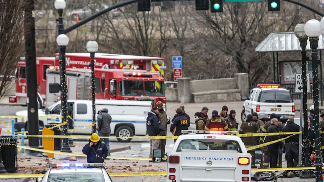 Report: Human Remains Found Near Site Of Christmas Morning Explosion In Nashville