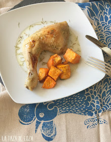 pollo-fácil-al-horno-con-miel-y-boniatos-o-batatas