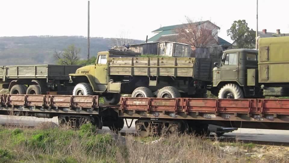 вивід техніки з окупованого Криму
