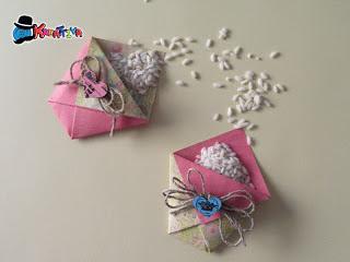 Sacchetti origami porta riso