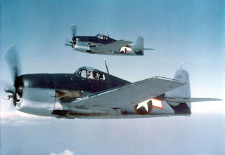 The Grumman F6F Hellcat. Image credti: by USN; Public Domain, https://commons.wikimedia.org/w/index.php?curid=3078727.