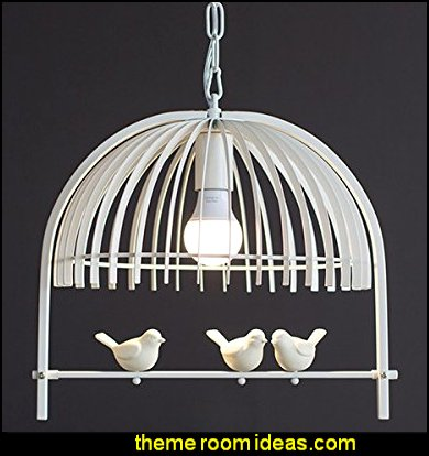 Iron Birdcage Chandeliers Lighting Fixture Pendant Lamp