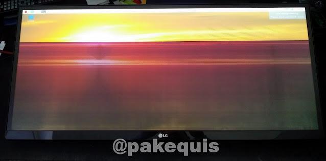 LG ultrawide 29UM68-P defeito