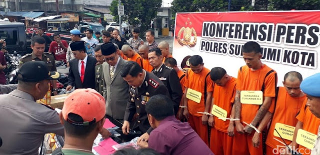 Teror Wanita, Komplotan 'Raja Tega' Digulung Polisi Sukabumi
