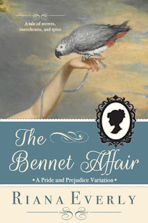 Book cover: The Bennet Affair by Riana Everly