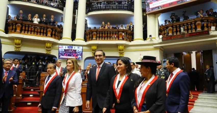 Polémica Exministra Marilú Martens regresaría al gobierno de Martín Vizcarra