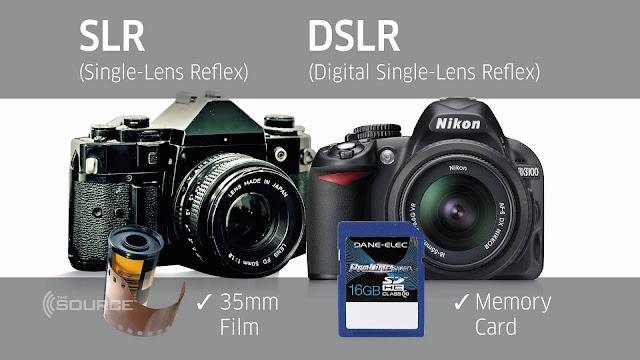 الفرق بين SLR و DSLR