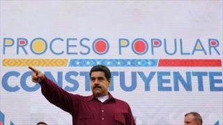Maduro arremete contra Trump: ¡Saca tus manos de aquí!