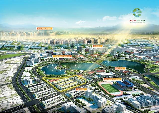 Dự án Phú Mỹ Eco City Tỉnh Bà Rịa Vũng Tàu