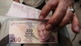 سعر صرف الليرة التركية مقابل العملات الرئيسية الثلاثاء 27/10/2020
