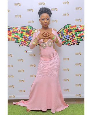 Red Carpet Dress of Akuapem Poloo