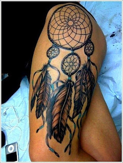 tattoo na coxa