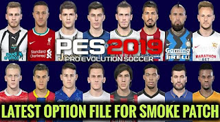 NEW Option File For Smoke Patch September 2020 PES 2019