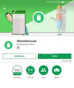 HOW TO VIEW WHATSAPP MESSAGE EVEN WHEN ITS DELETED