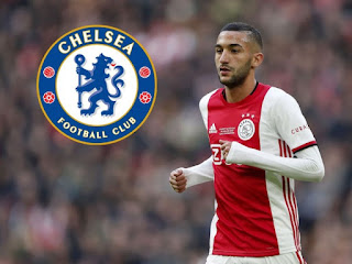 Chelsea To Sign Moroccan Winger Hakim Ziyech From Ajax In £33.3m Deal