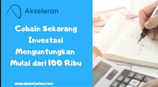 akseleran investasi pendanaan menguntungkan