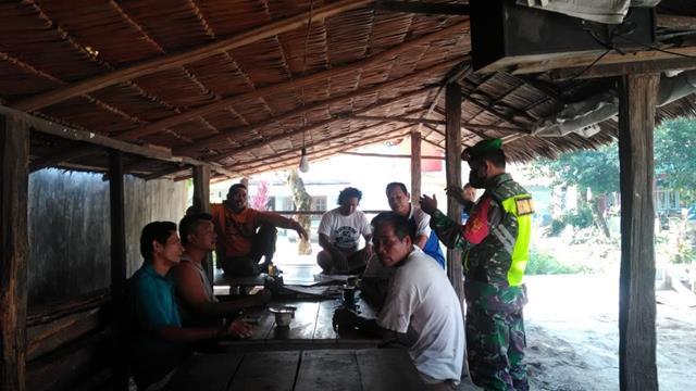 Cegah Penyebaran Covid-19, Personel jajaran Kodim 0207/Simalungun Terapkan Disiplin Protokol Kesehatan