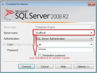 Authentication Windows or SQL Server