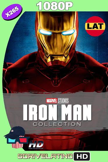 Iron Man Colección (2008-2013) BDRip 1080p x265 Latino-Ingles MKV