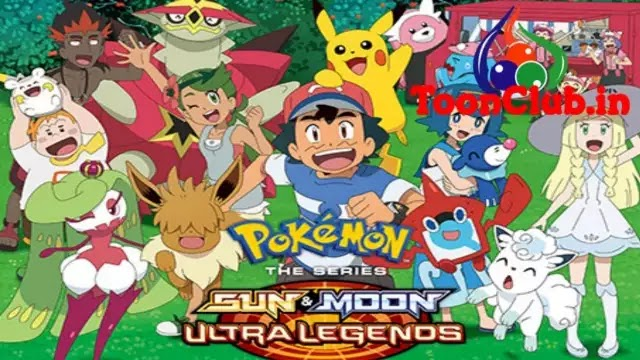 Pokemon Season-22 Sun and Moon: Ultra Legends In Hindi dubbed Free Download