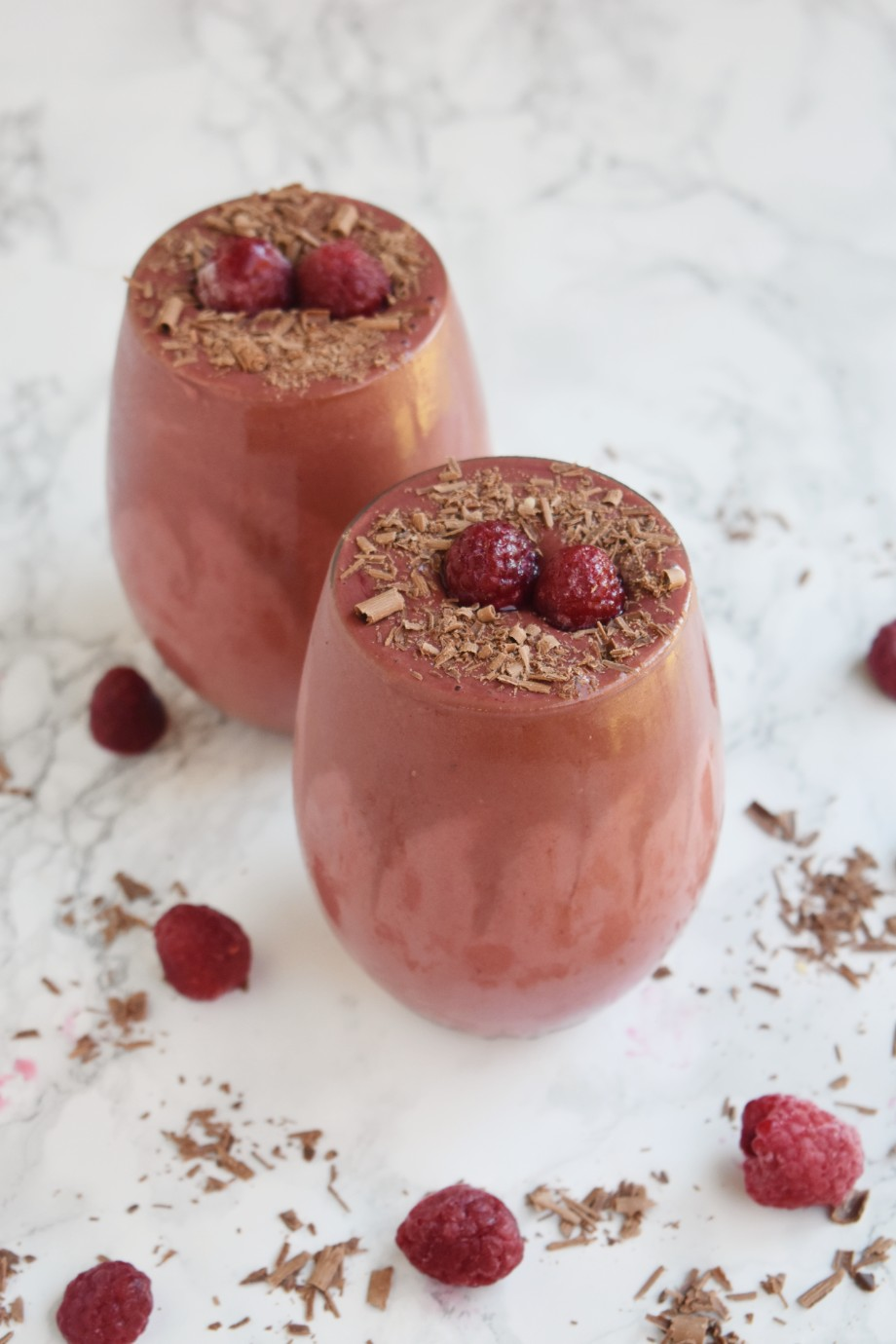 Raspberry Chocolate Smoothie