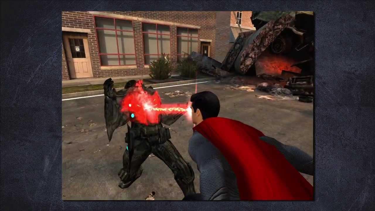 Man Of Steel Video Game