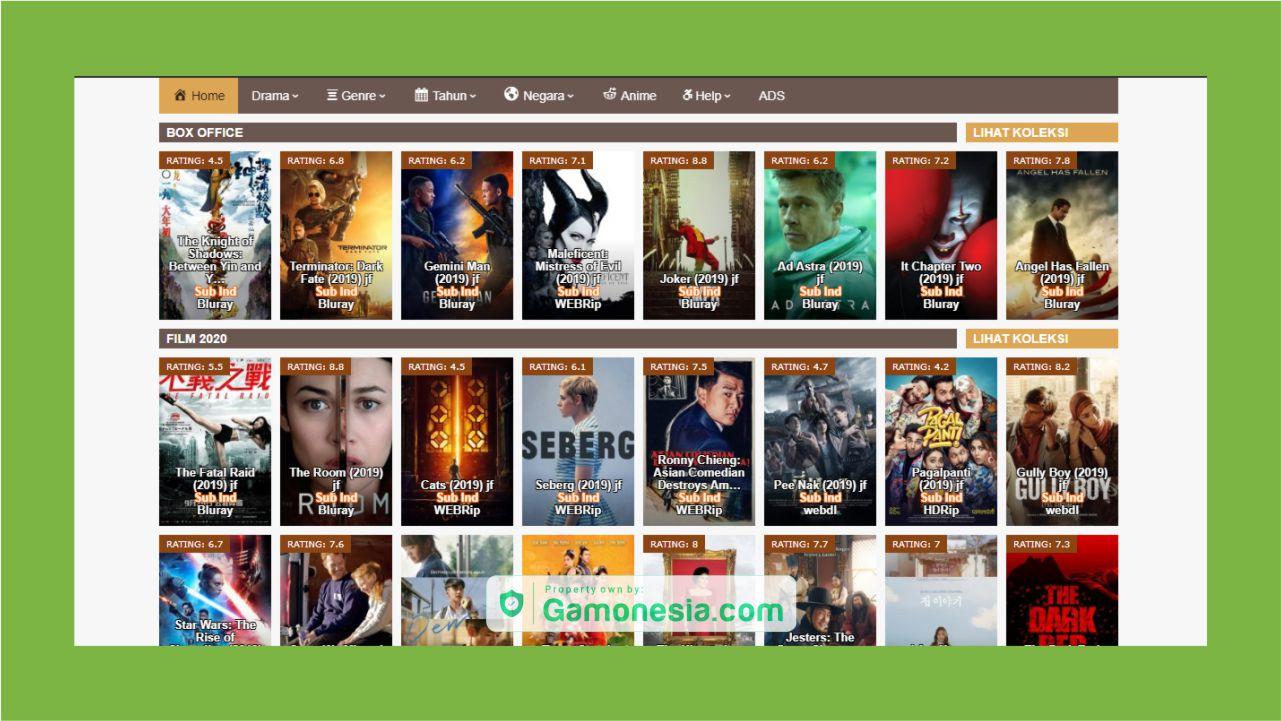 situs Indoxxi terbaru download film dan streaming