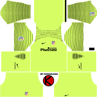 Atlético Madrid Goalkeeper Away Kits