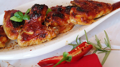 طريقة عمل أجنحة الدجاج المقرمشه