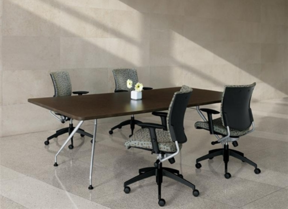 Global Alba Rectangular Conference Table