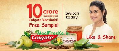 Free Colgate Vedshakti