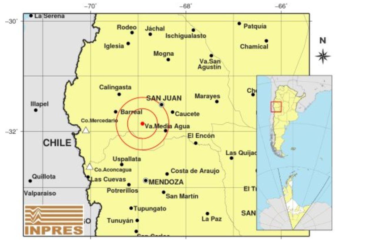 Fuerte sismo en San Juan fue percibido en varias provincias