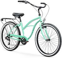 sixthreezero Around The Block Women's Beach Cruiser Bicycle, 7-speed, 26-Inch,